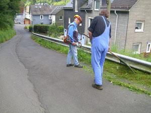 In Aktion: Sauberkeit und Ordnung in Achenbach