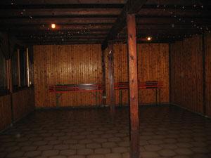 Innenraum Grillhütte