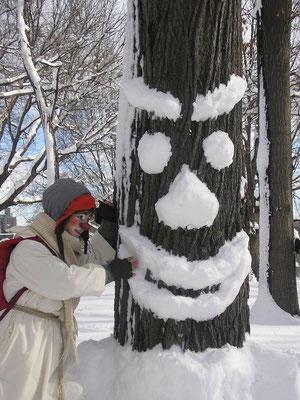 Gratitude à l'arbre qui créé l'arbrtiste (pas facile à prononcer, mais si le corps s'adapte à tout, alors la langue aussi?)