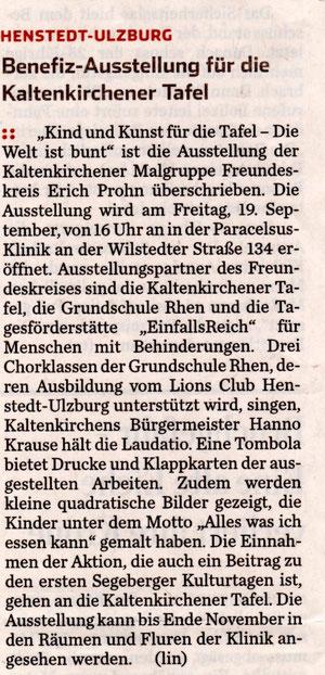 Hamburger Abendblatt 16.09.2014