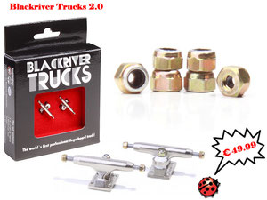 Blackriver Trucks 2.0 Grey