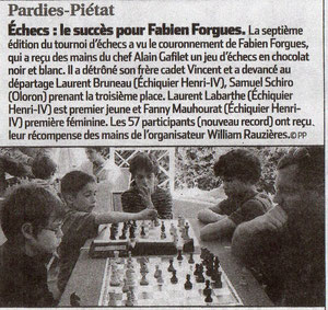 Tournoi de Pardies-Piétat, Mai 2011