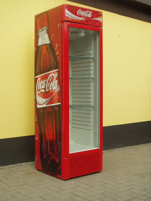 Coca-Kühlschrank