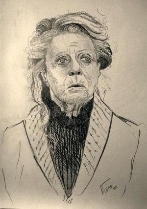 Professora McGonagall, dibuix de Pol Peiró.