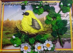 Работа Светланы Ковалевой.