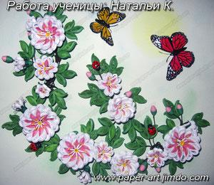 квиллинг курсы онлайн бумага бумажные полосы цветы