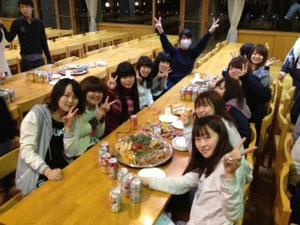 宴会(*^_^*)! 2年女子