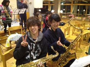 しもりんてぃ BBの練習室の住民といえばこの2人!