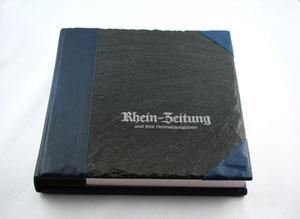 Schieferbuch für die Rhein-Zeitung