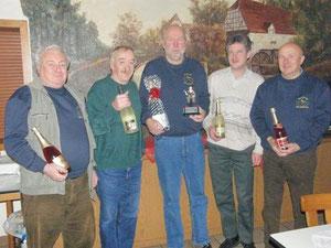 Bernhard, Reinhard, Dieter, Olaf & Dieter