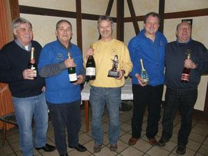 Rainer, Erwin, Jürn, Bernd & Bubi
