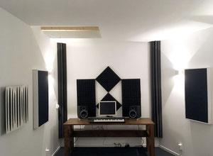 Tonstudio - Wände und Decke mit PhoneStar gedämmt