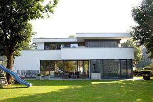 Einfamilienhaus, Bauhaus, WDVS, modern Ibbenbüren