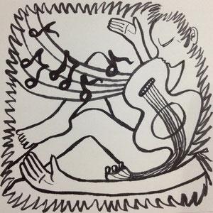 空と大地の間で音楽を奏でる人/201200505