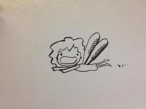 妖精さん風おかんに羽を付けてとばしてみました/201306末