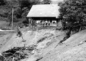 Luthern Bad, Längenbächli, Hangrutsch 24. Juli 1972  (UW 11)