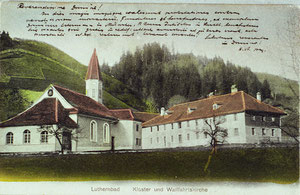 Luthern Bad, Kloster und alte Wallfahrtskirche, handcoloriert  (LB 3)
