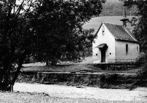 Luthern, Überschwemmungsschaden 24. Juli 1972 bei der Kapelle im Grund  (UW 4)