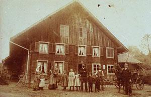 Luthern Dorf, ehemaliges Gasthaus Hochbrügg (HB 1)