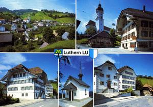 Luthern Dorf, Ansichtskarte um 1980  (LD 31)
