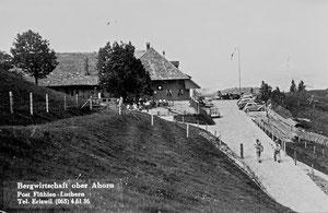 Ahorn, Bergrestaurant und Alpbetrieb (AH 3)