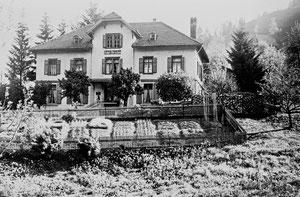 Luthern Bad, Hotel Hirschen, mit bachseitigem Garten  (Hi 6)