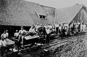 Hofstatt, Bau Flühlenstrasse, Hinter Flühlen, ehemals Flühlenpost  (FS 3)