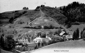 "Luthern Bad, Ansichtskarte ""Kurhaus Luthernbad"", um 1911 (Hi 3)"