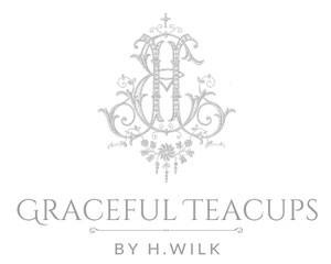 Graceful Teacups By H.Wilk