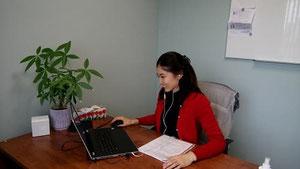 IELTS対策 オンライン 授業の様子