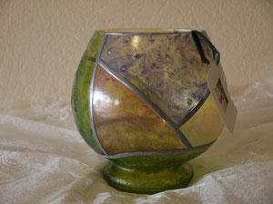 Mi Boule vert nacré - 25 cm env.