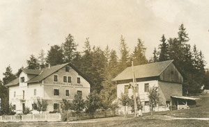 Albergo Waldruhe 1917