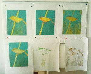 Arbeit von Annette Henatsch, 2010