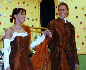 Prinzenpaar 2007 der Faschingsgesellschaft Pocking