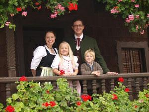 Kinder- und Prinzenpaar 2010 der Faschingsgesellschaft Pocking