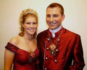 Prinzenpaar 2006, Prinzessin Katharina und Prinz Thomas der Faschingsgesellschaft Pocking
