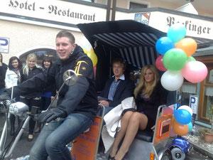 Das Prinzenpaar 2011, Prinzessin Julia und Prinz Alexander der Faschingsgesellschaft Pocking