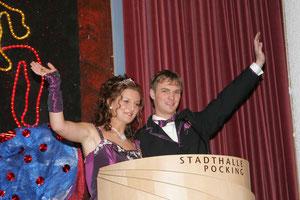 Prinzenpaar 2005, Prinzessin Evi und Prinz Martin der Faschingsgesellschaft Pocking