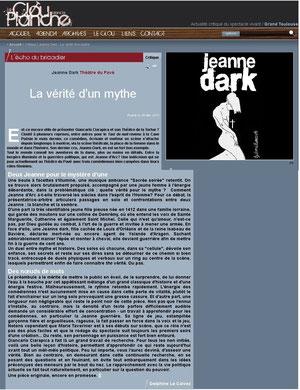 """Article paru dans """"Le Clou dans la Planche"""""""