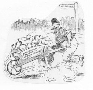 Cartoon re. Corporation Housing Scheme