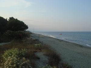 des kms de plage