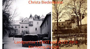 Landparthie1 EINST und JETZT, Schloß in Kirchberg/Pielach