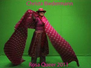 Rosa Queer, Trickfilm, 2011, VOR und HINTER der Kamera: Christa Biedermann