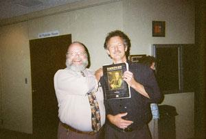 Patrick Ball and I 2004