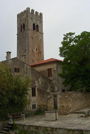 Im alten Stadtkern von Motovun
