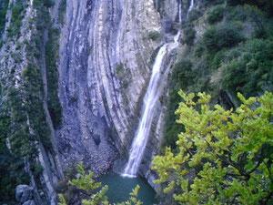 cascade AMAZER située à Aghdir