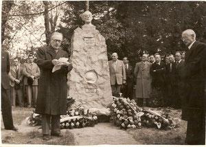 Inauguration du monument Pierre Virlogeux-Claude Rodier