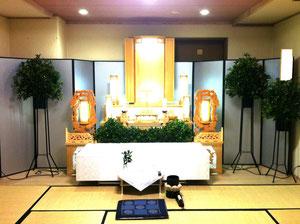 北斎場祭壇