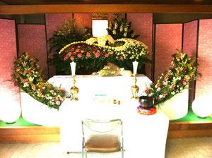 生駒市花祭壇