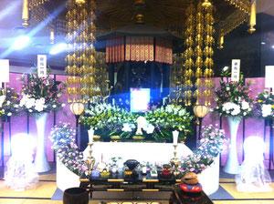 阪奈霊園花祭壇